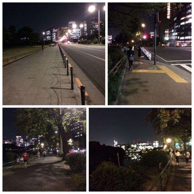 ☆平日夜☆Funラン/ウォーク@皇居(10/27木曜)
